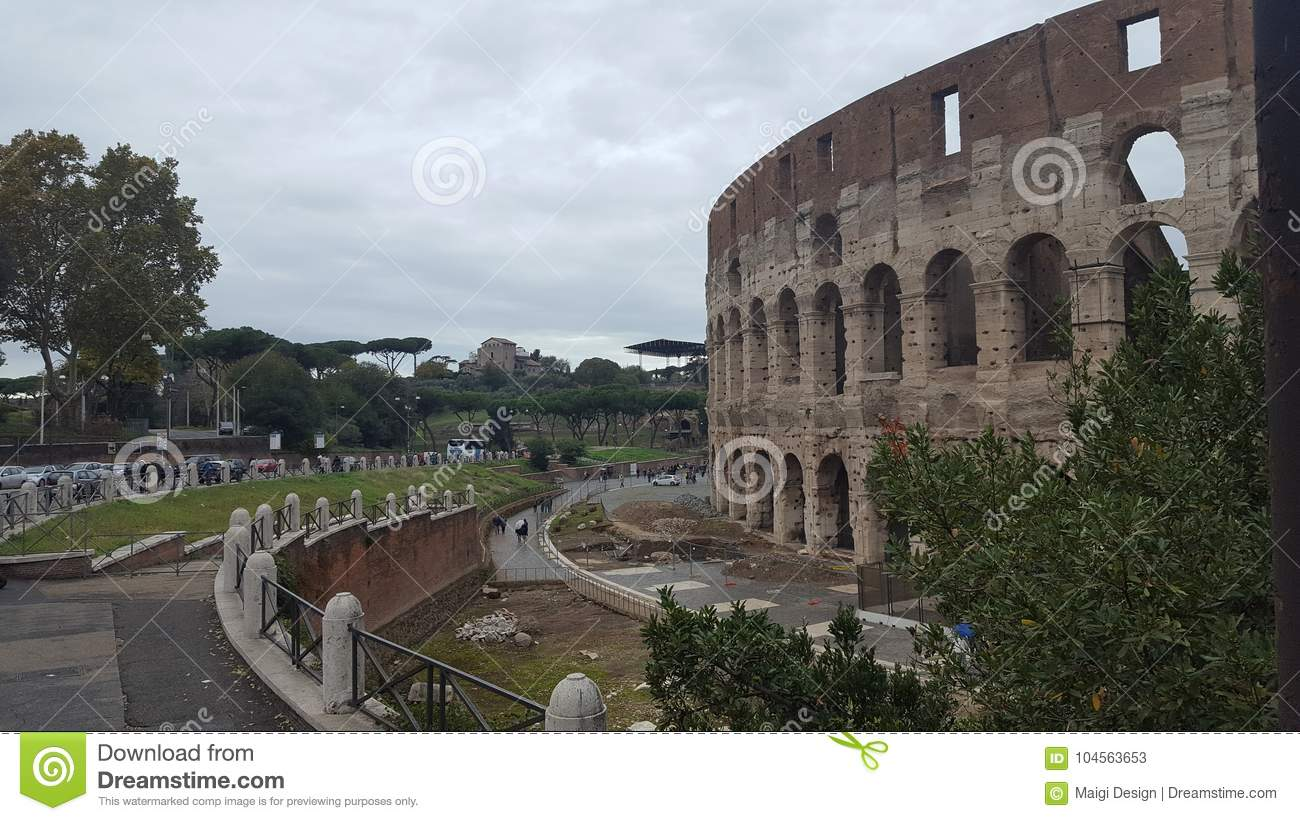 Download The Colosseum In Rome, Italy Stock Image - Image of colosseo, rome: 104563653