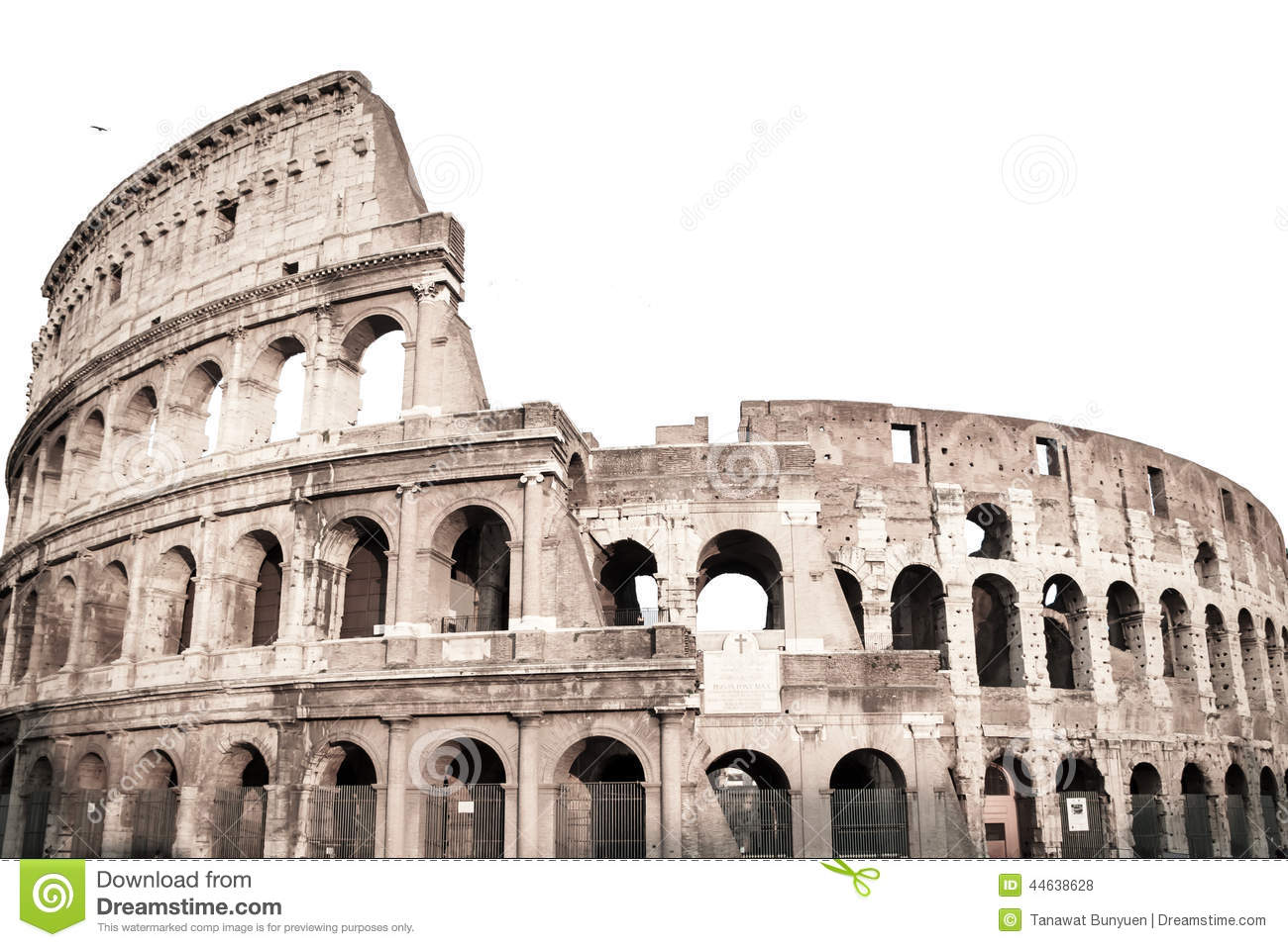 Colosseum in rome italy stock photo image 44638628 for Architecture antique