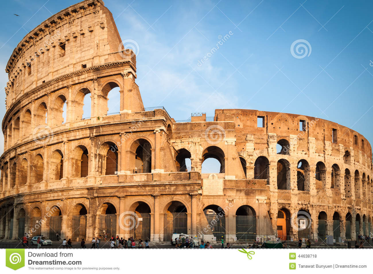 colosseum in rome italy stock photo image 44638718
