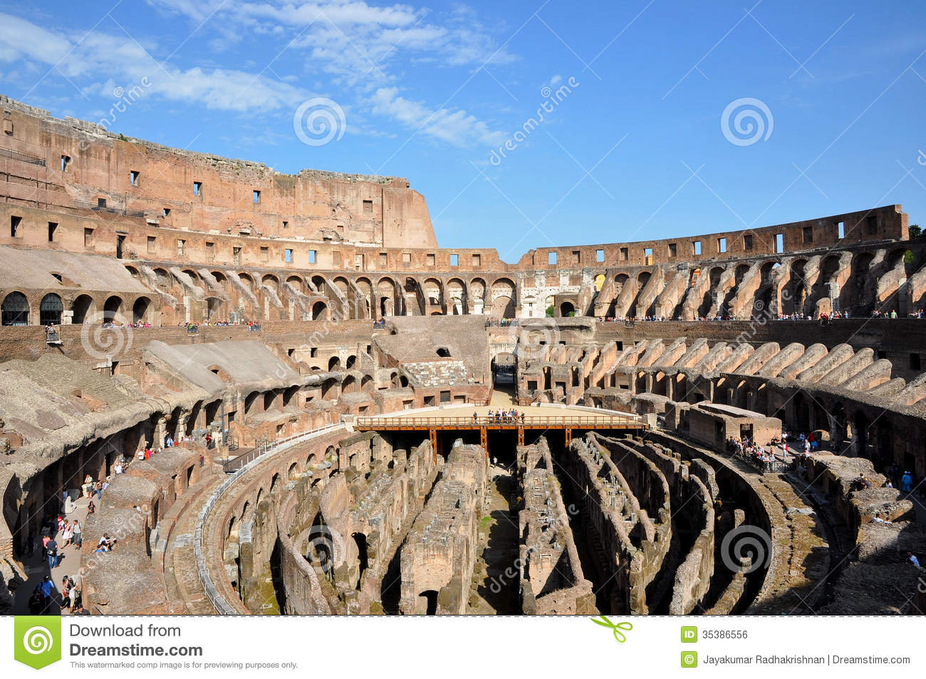 Colosseum Rome Italy Was Largest Amphitheatre Roman Empire Greatest