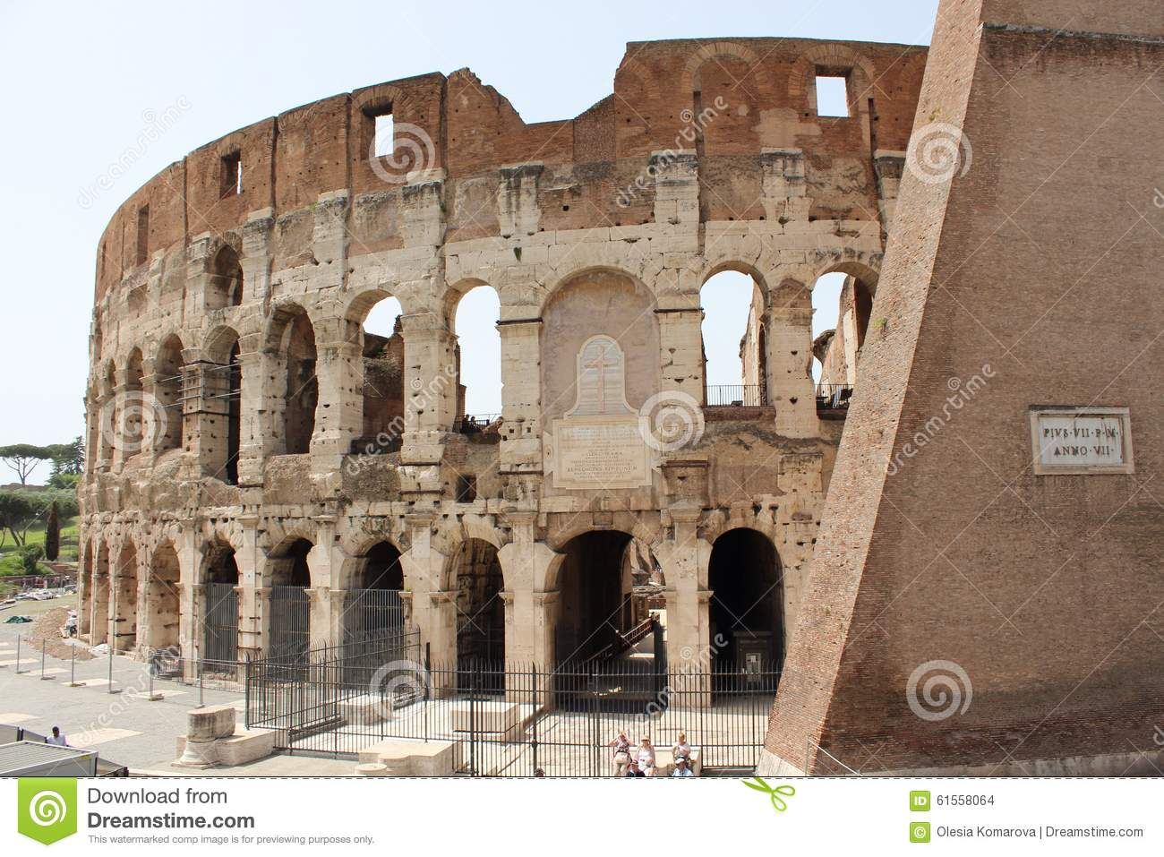 Colosseum Stock Photo Image 61558064