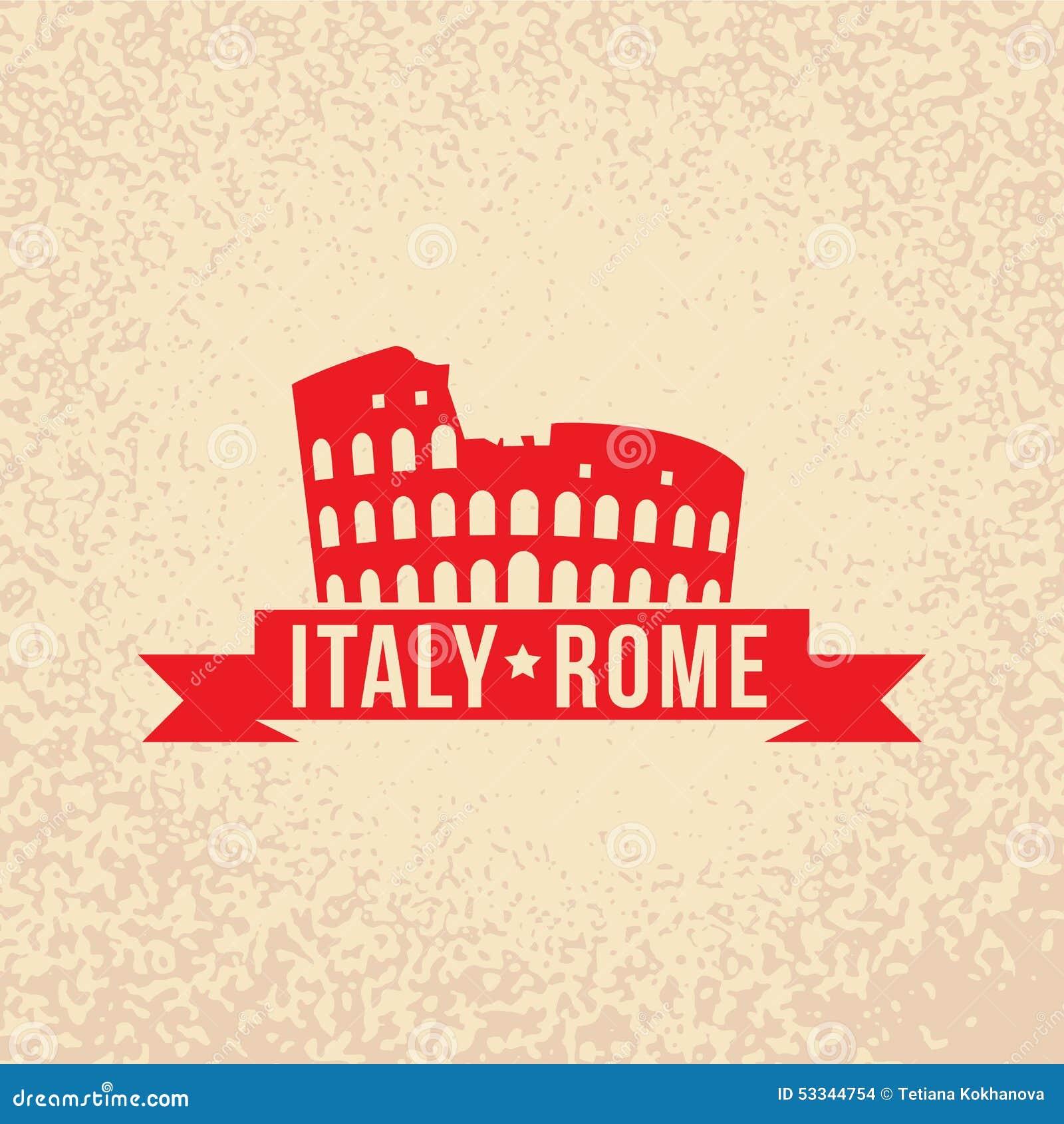 Colosseum the symbol of rome italy stock vector illustration colosseum the symbol of rome italy biocorpaavc