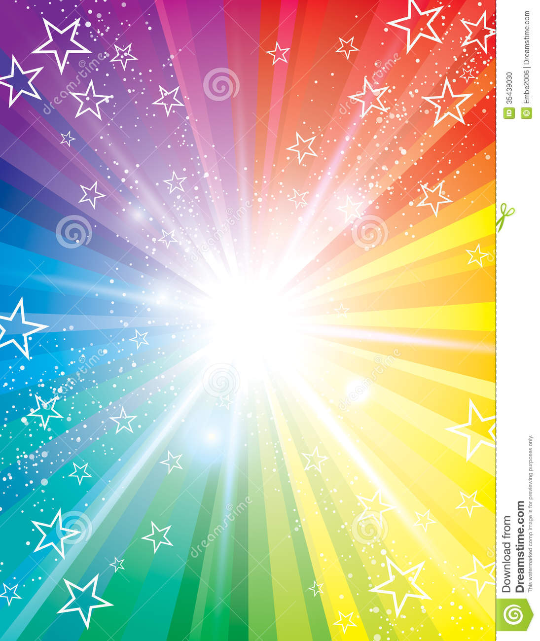 A colourful blast background Light Colourful Backgrounds
