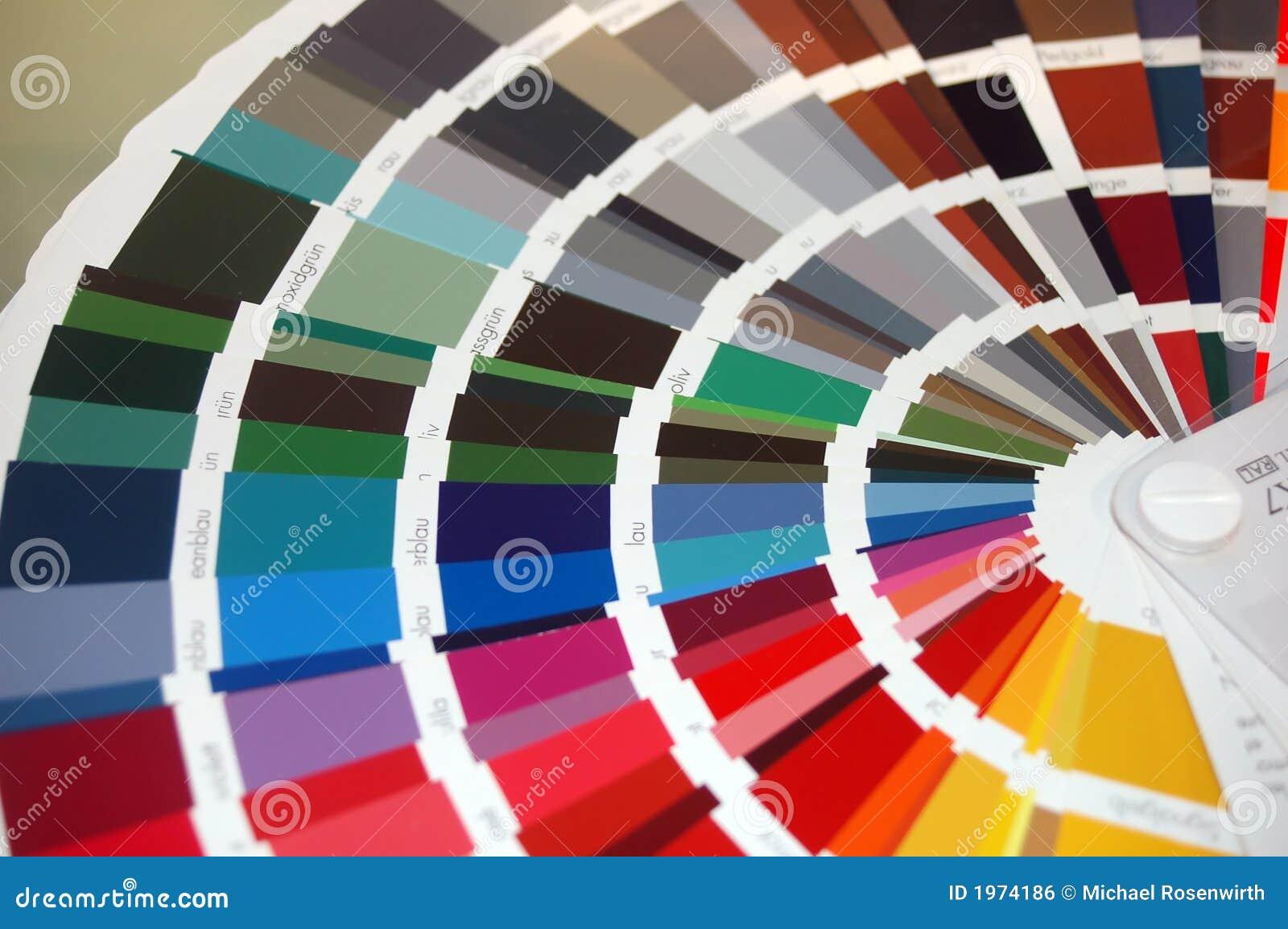 Colour chart stock photo. Image of beauty, beautiful, chart - 1974186