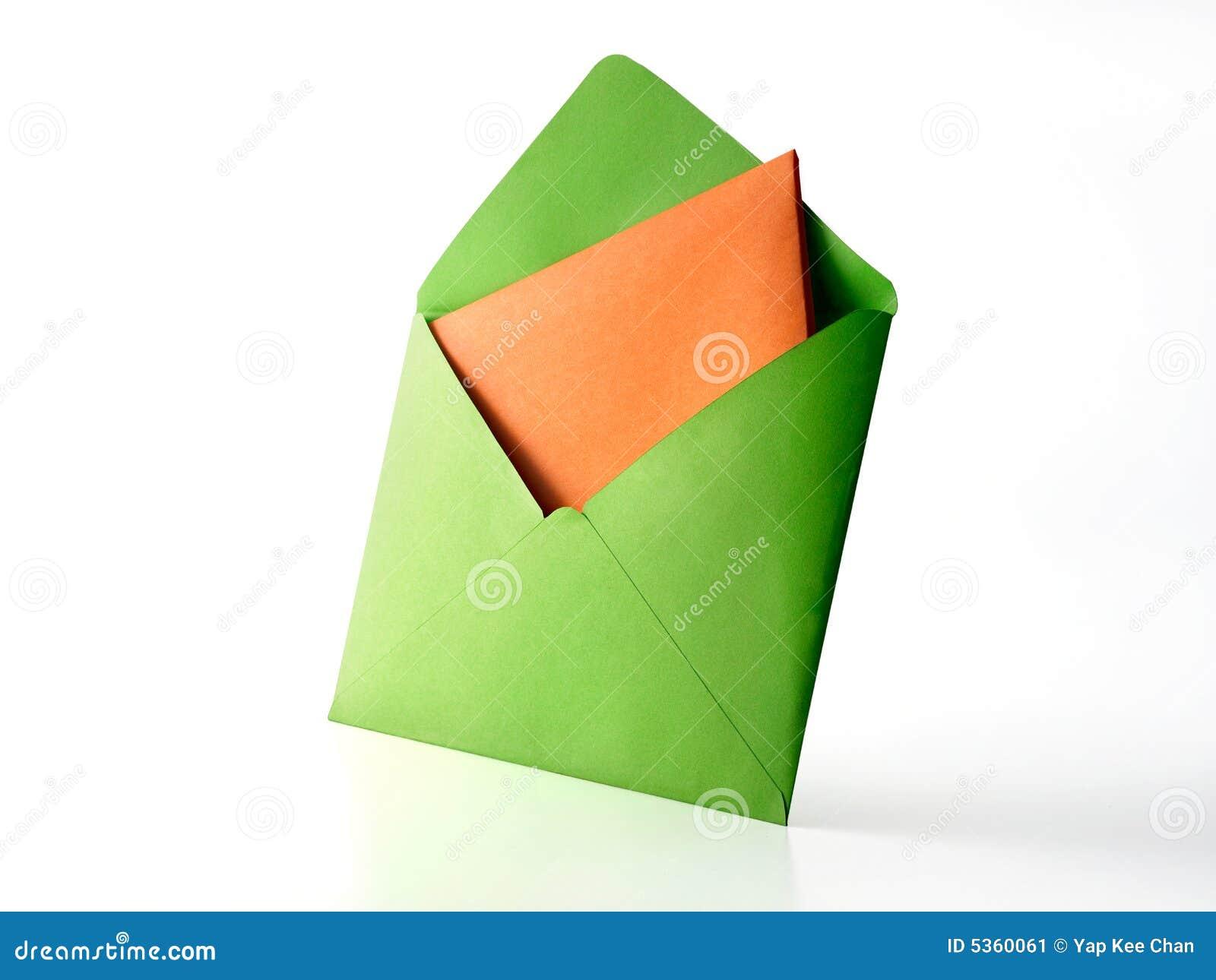 Colour envelope