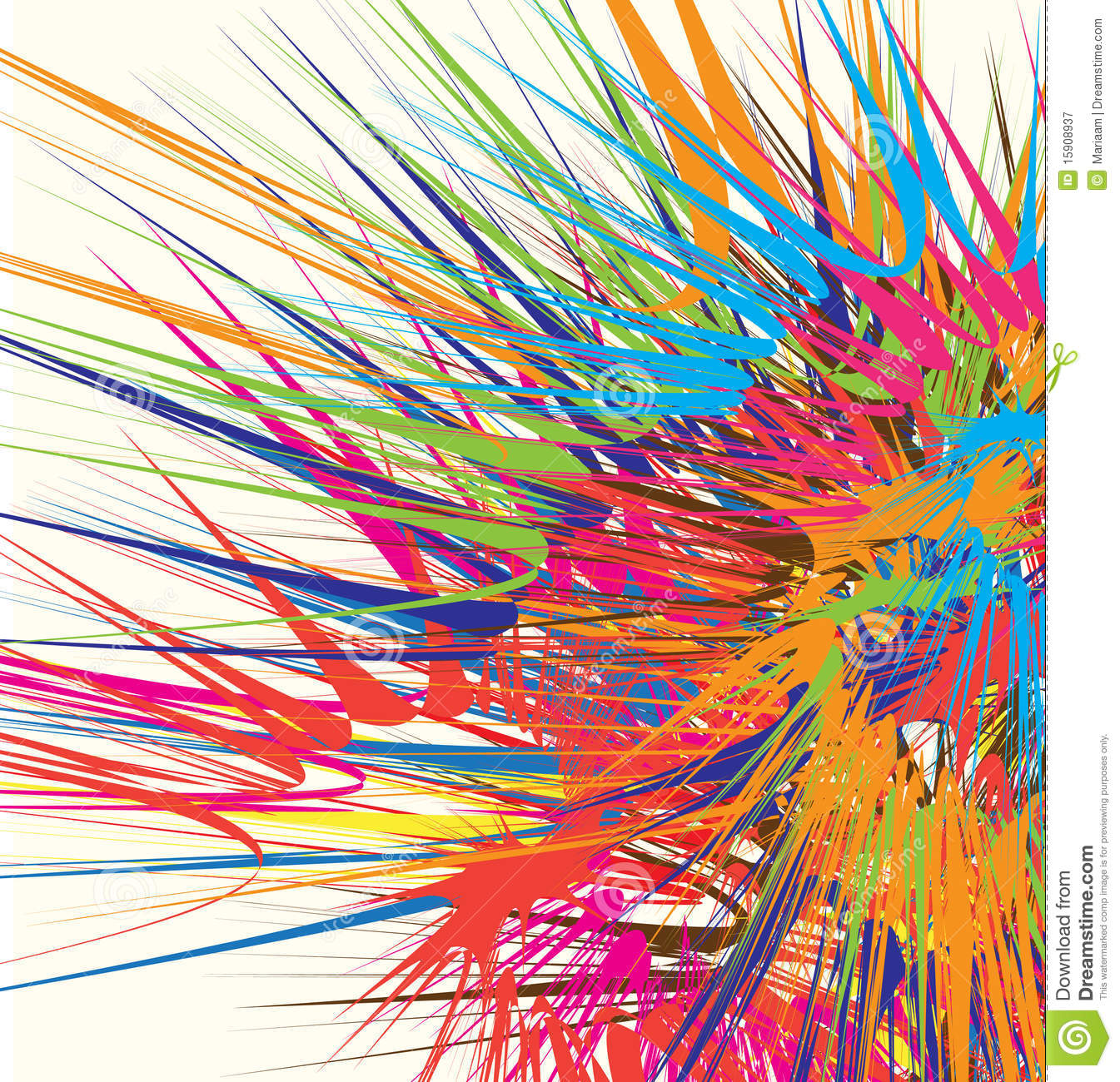 Colour Explosion Royalty Free Stock Photography - Image: 15908937
