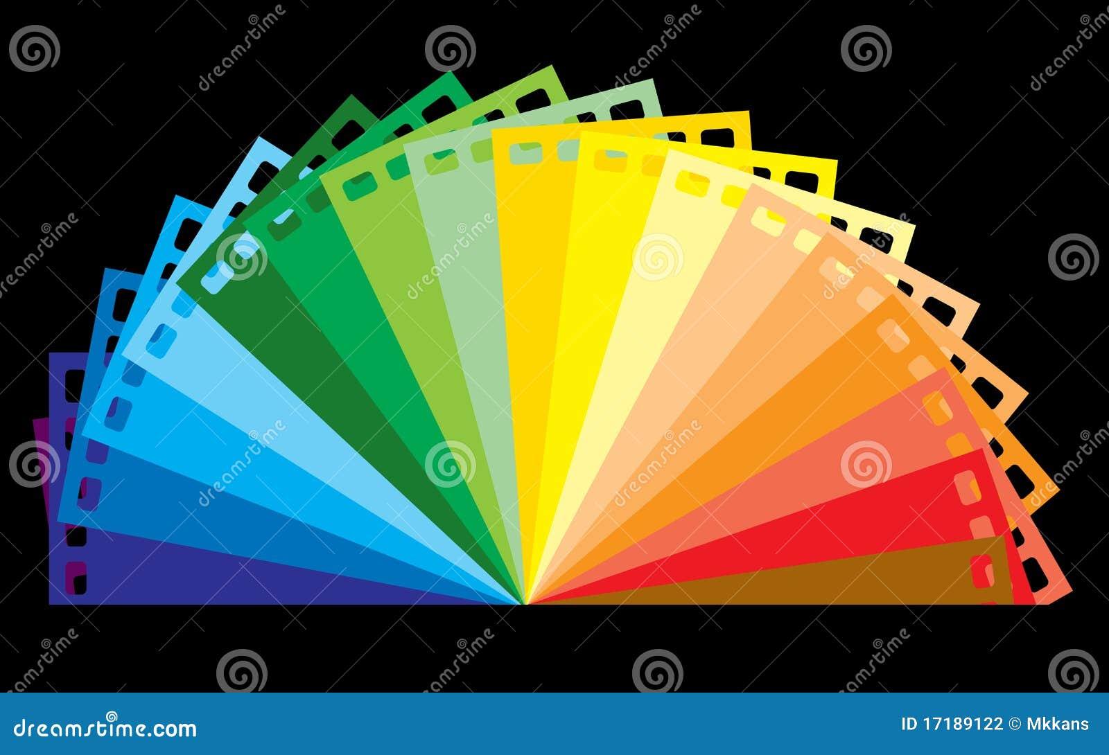 Colour filmu tęcza
