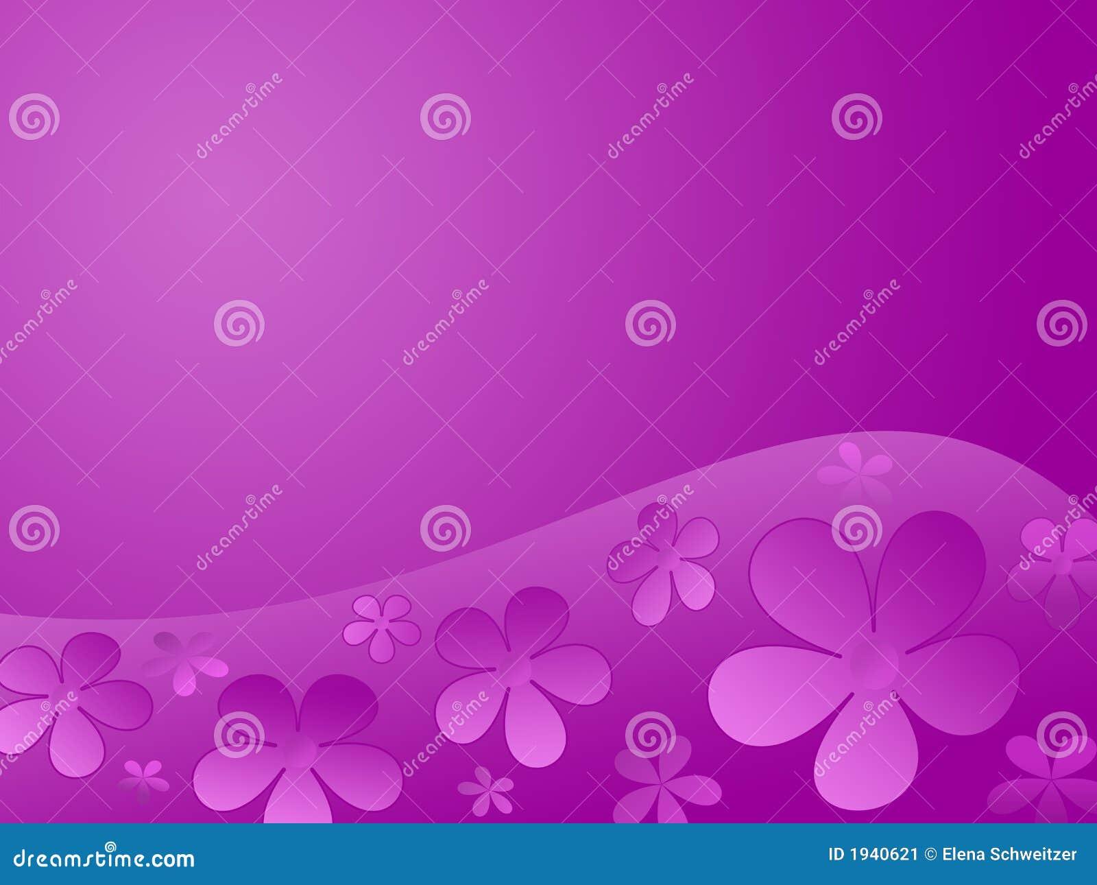 Colour Flowers Background Stock Illustration Illustration Of