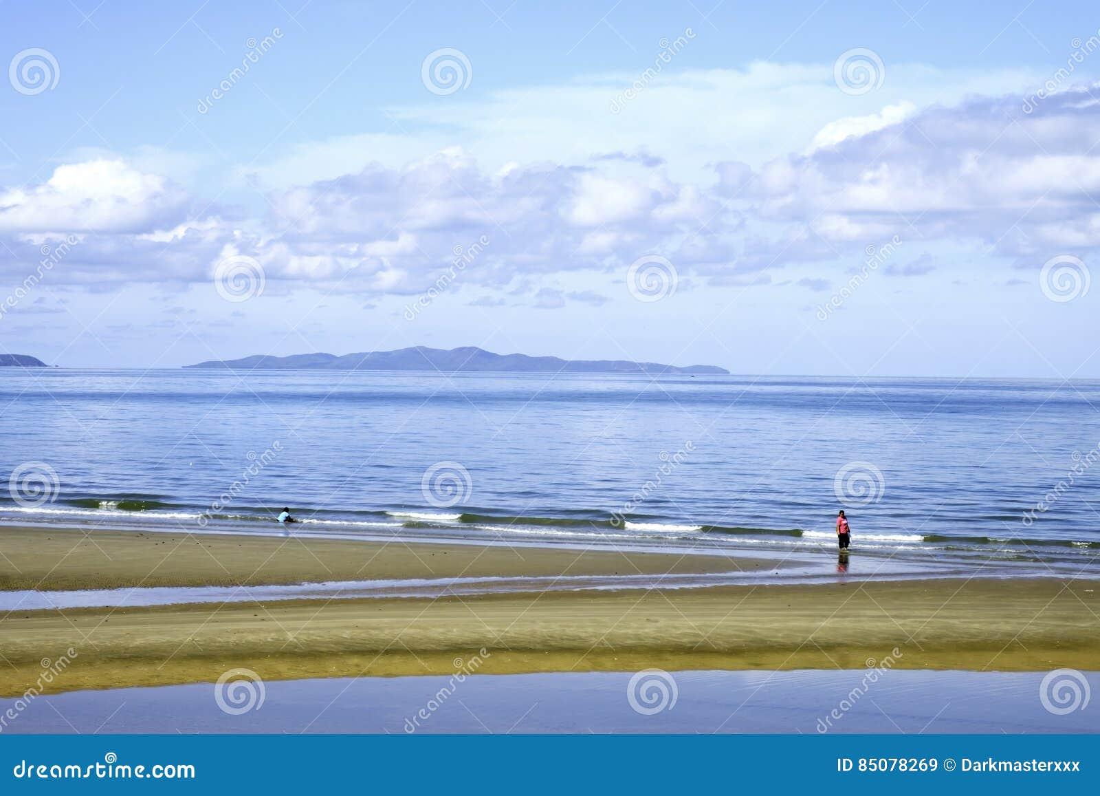 Colour Full Beach  Pattaya Chonburi Thailand  With Blue Sky A L