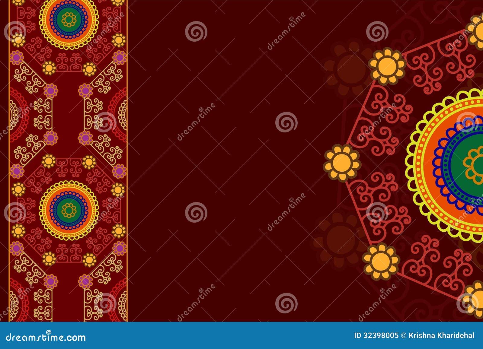 Colour Henna Mandala Background Royalty Free Stock Photo  Image 32398005