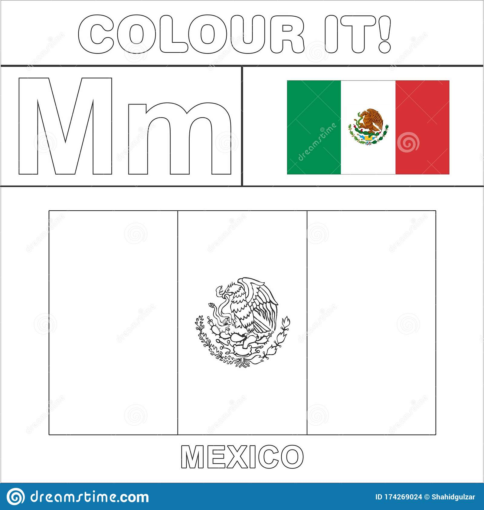 flag of mexico template - Clip Art Library | 1685x1600
