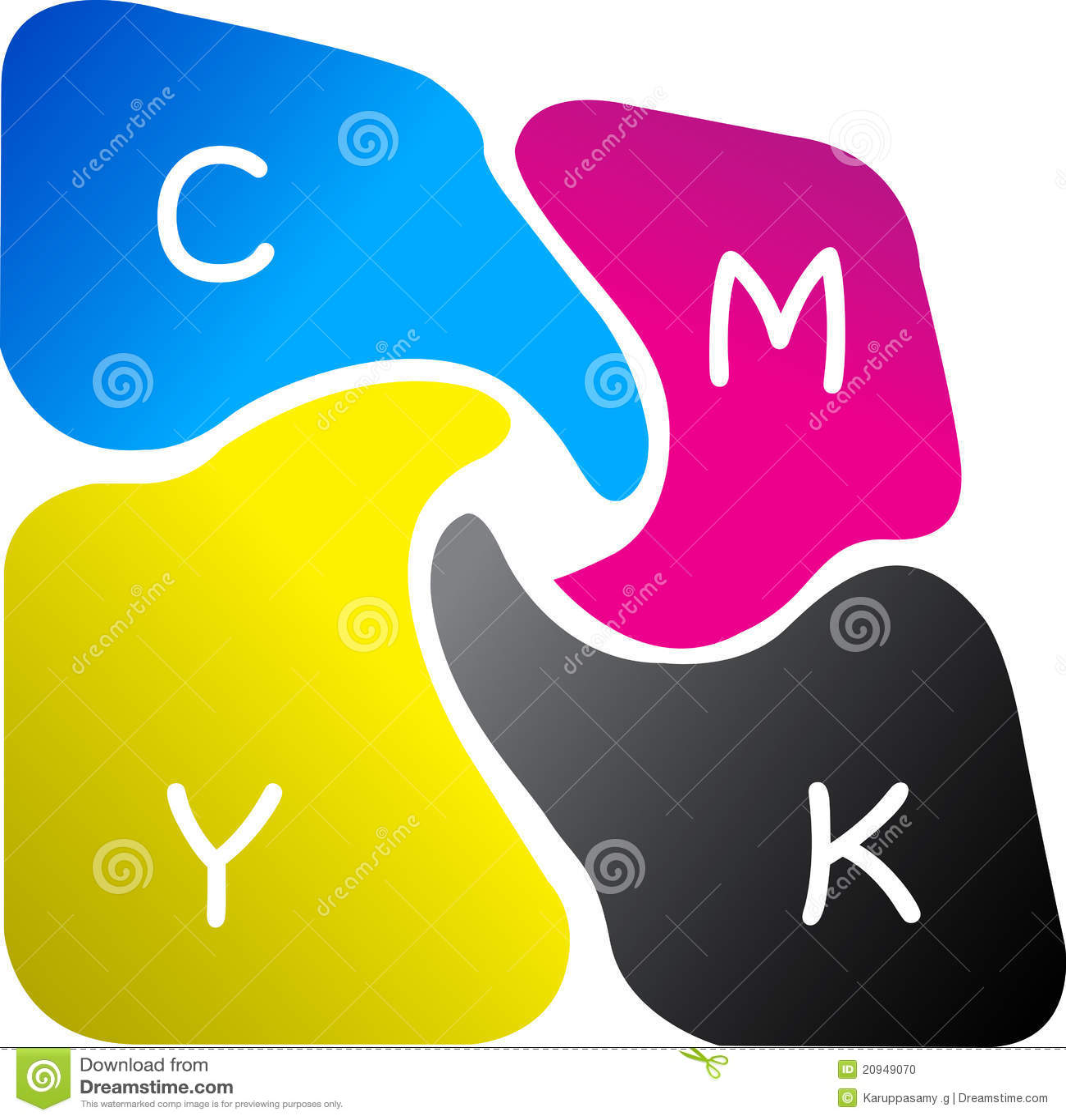 Colour loga druk