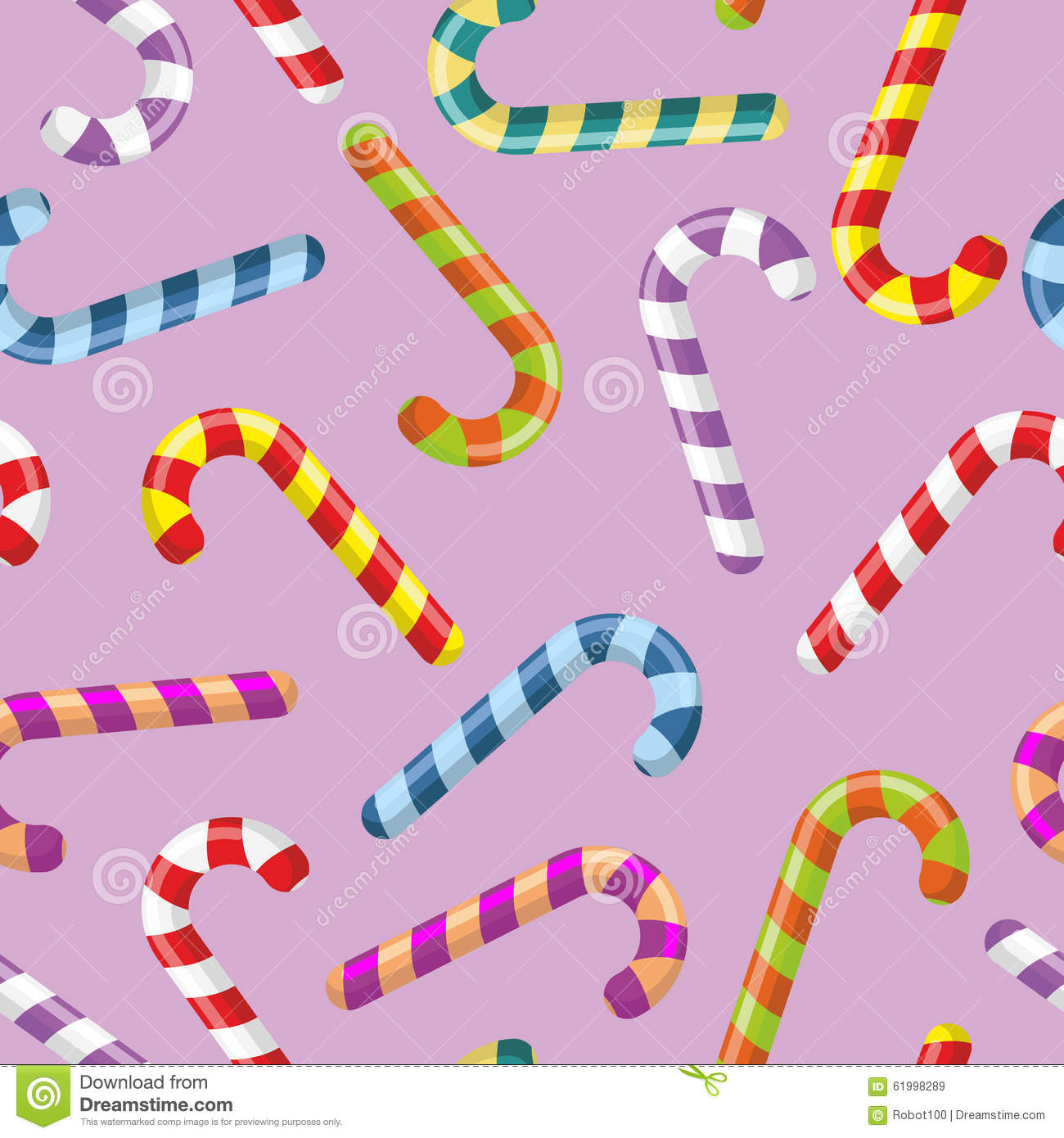Colour striped mint hard candy seamless pattern stock for Childrens fabric