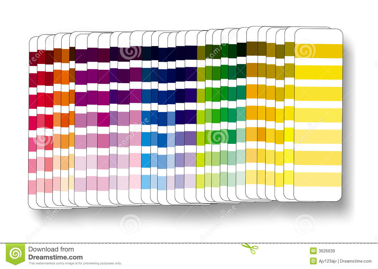 Colour Swatch Cmyk Rgb Royalty Free Stock Images - Image