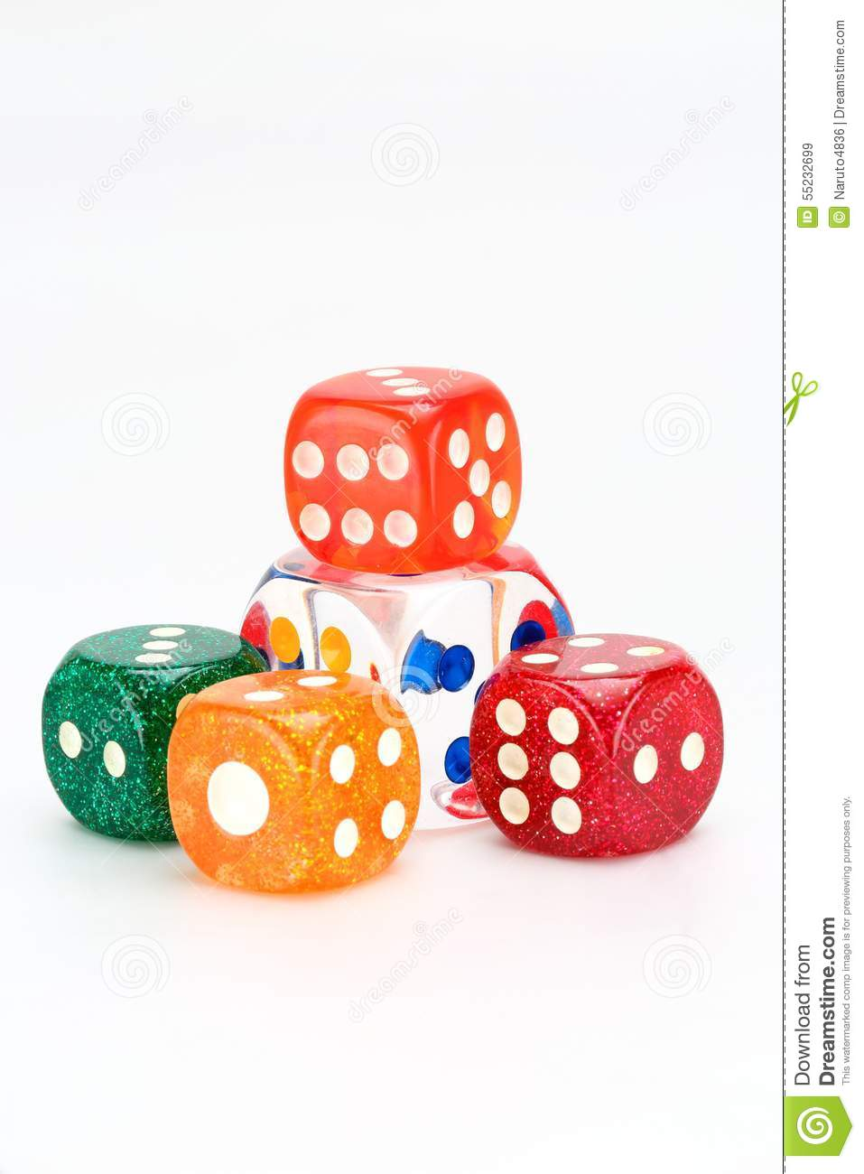 Coloured Dices