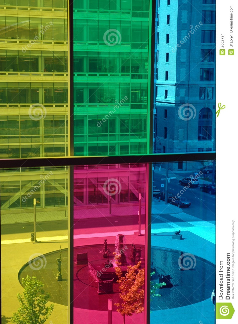 Coloured windows