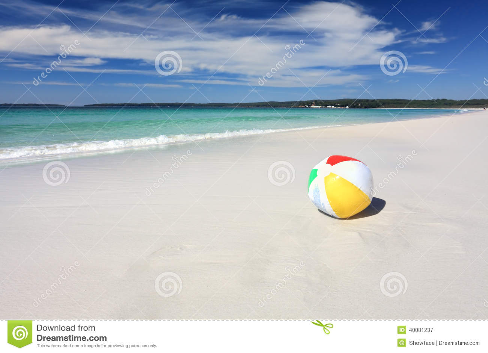 Beach ball in ocean Lost Colourful Beach Ball On The Seashore By The Ocean Dreamstimecom Colourful Beach Ball On The Seashore By The Ocean Stock Image