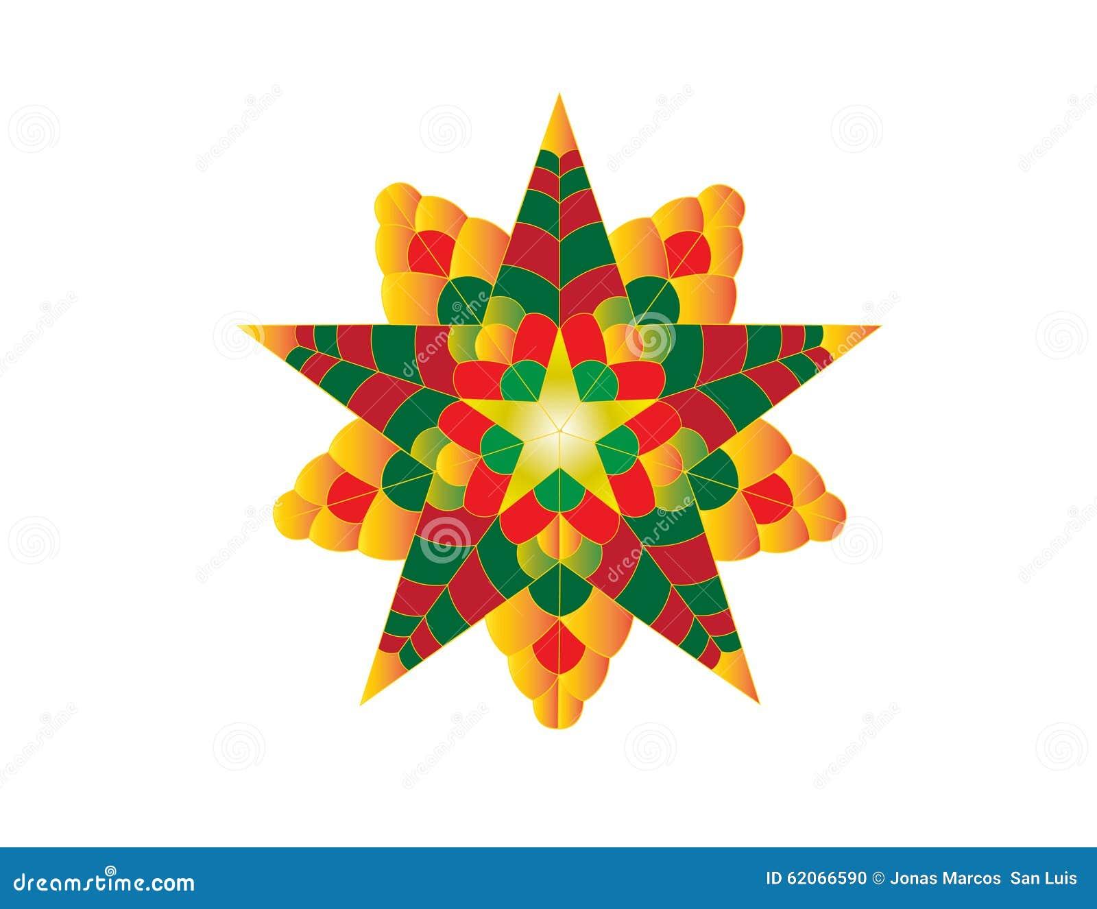 Christmas Lantern.Colourful Christmas Lantern Stock Vector Illustration Of