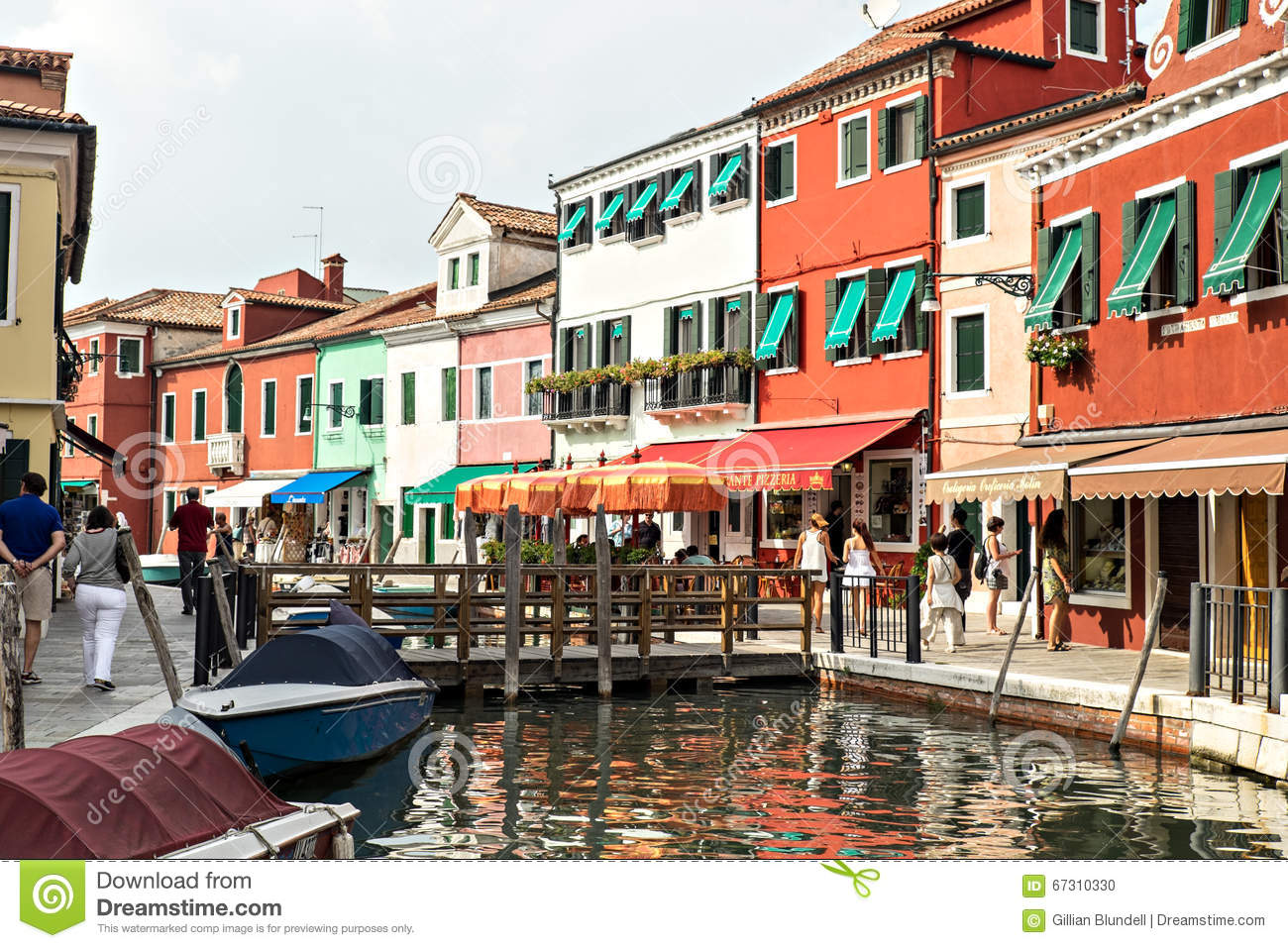 Colorful burano italy burano tourism - Colourful Colorful Houses And Shops Alongside Canal On Island Of Burano In Venetian Lagoon