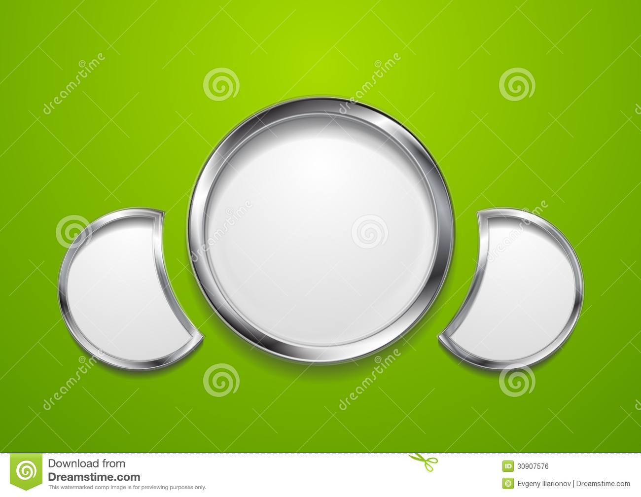 ... Design With Round Shapes Royalty Free Stock Image - Image: 30907576
