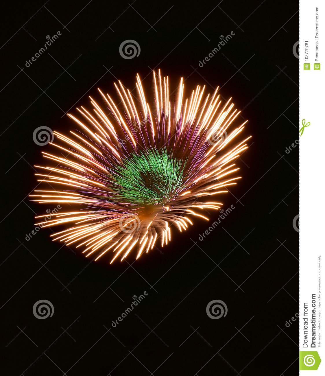 Download Colourful Fireworks Isolated In Dark Background Close Up With The Place For Text, Malta Fireworks Festival, 4 Of July, Independenc Stock Image - Image of independenc, effect: 103779761