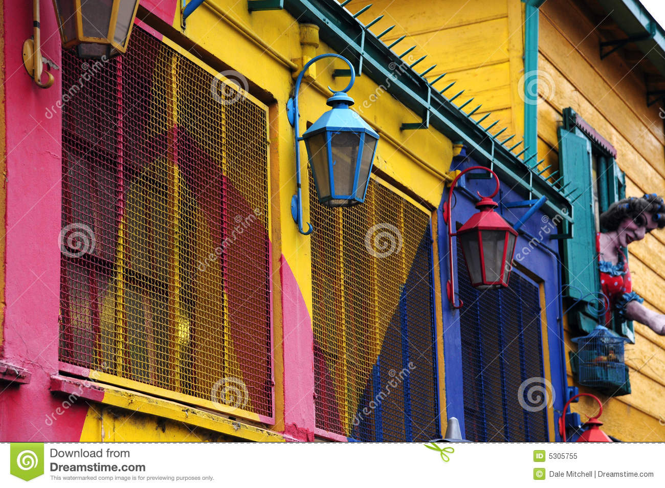 Colourful house of caminito