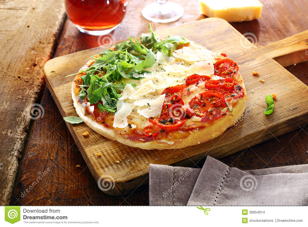 how to say cheese pizza in italian