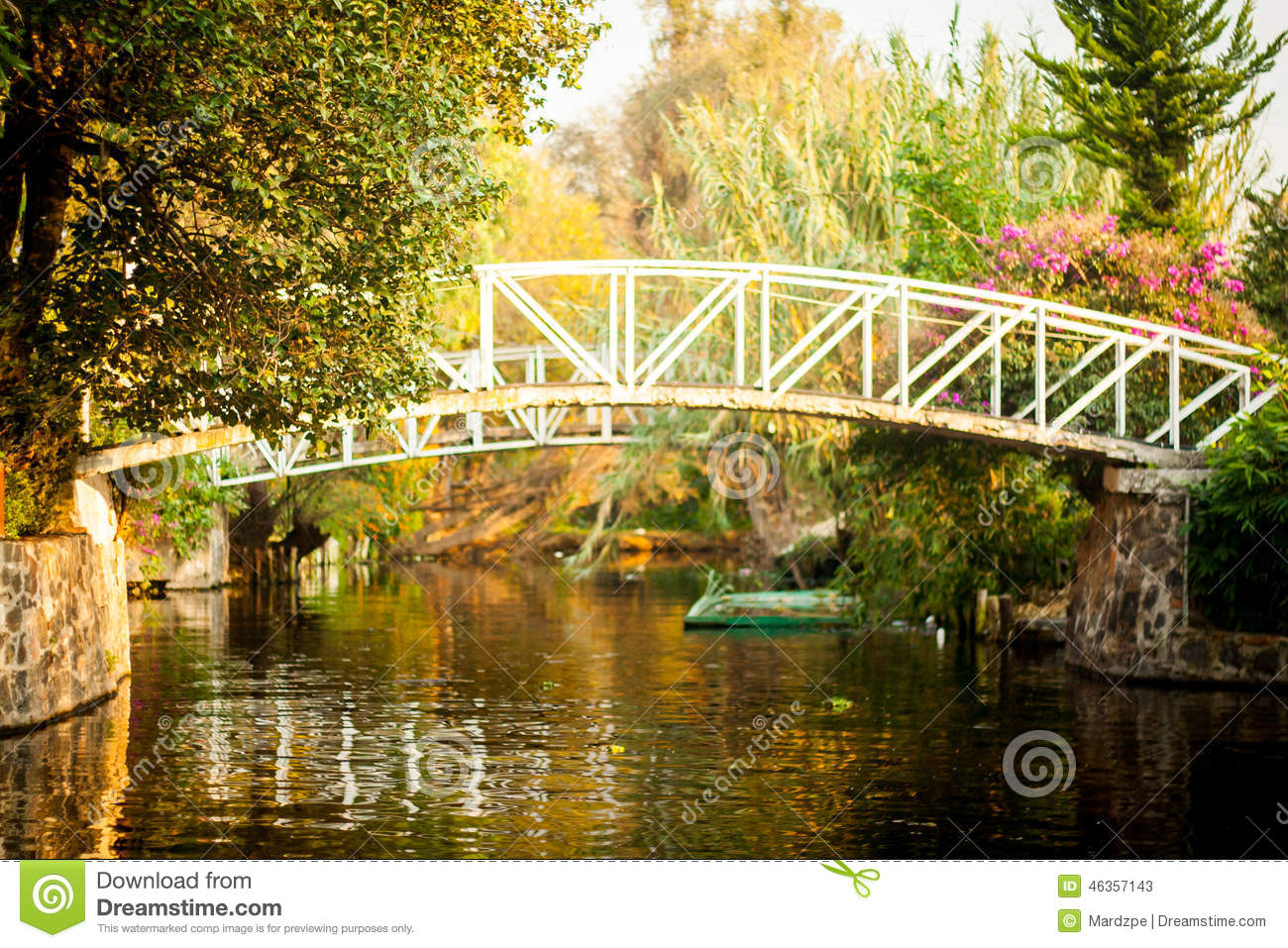 Colourful Mexico Xochimilco 39 S Floating Gardens In Mexico City Stock Image Image 46357143