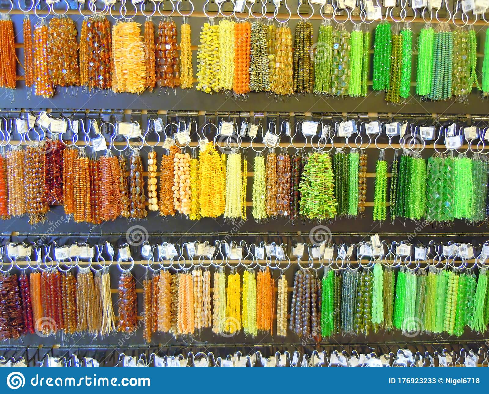 Colourful Plastic Bead Bracelets For Sale Stock Image Image Of Outlet States 176923233