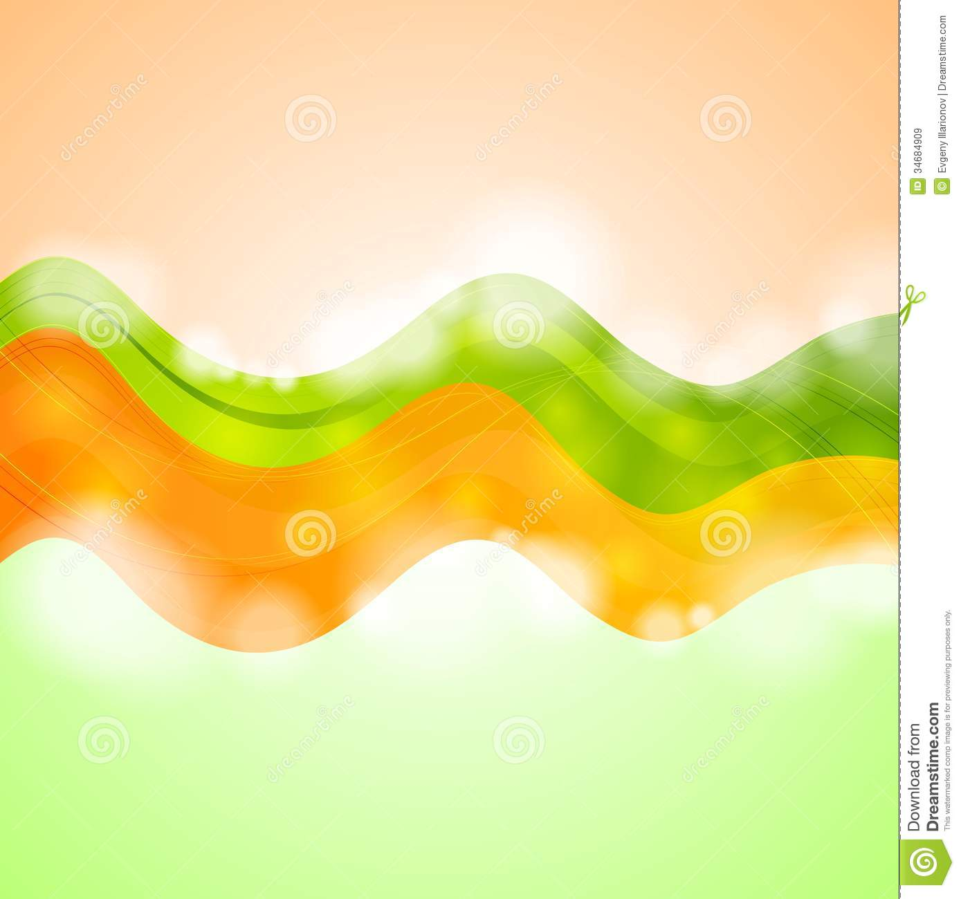 Colourful Vector Illustration Design Royalty Free Stock
