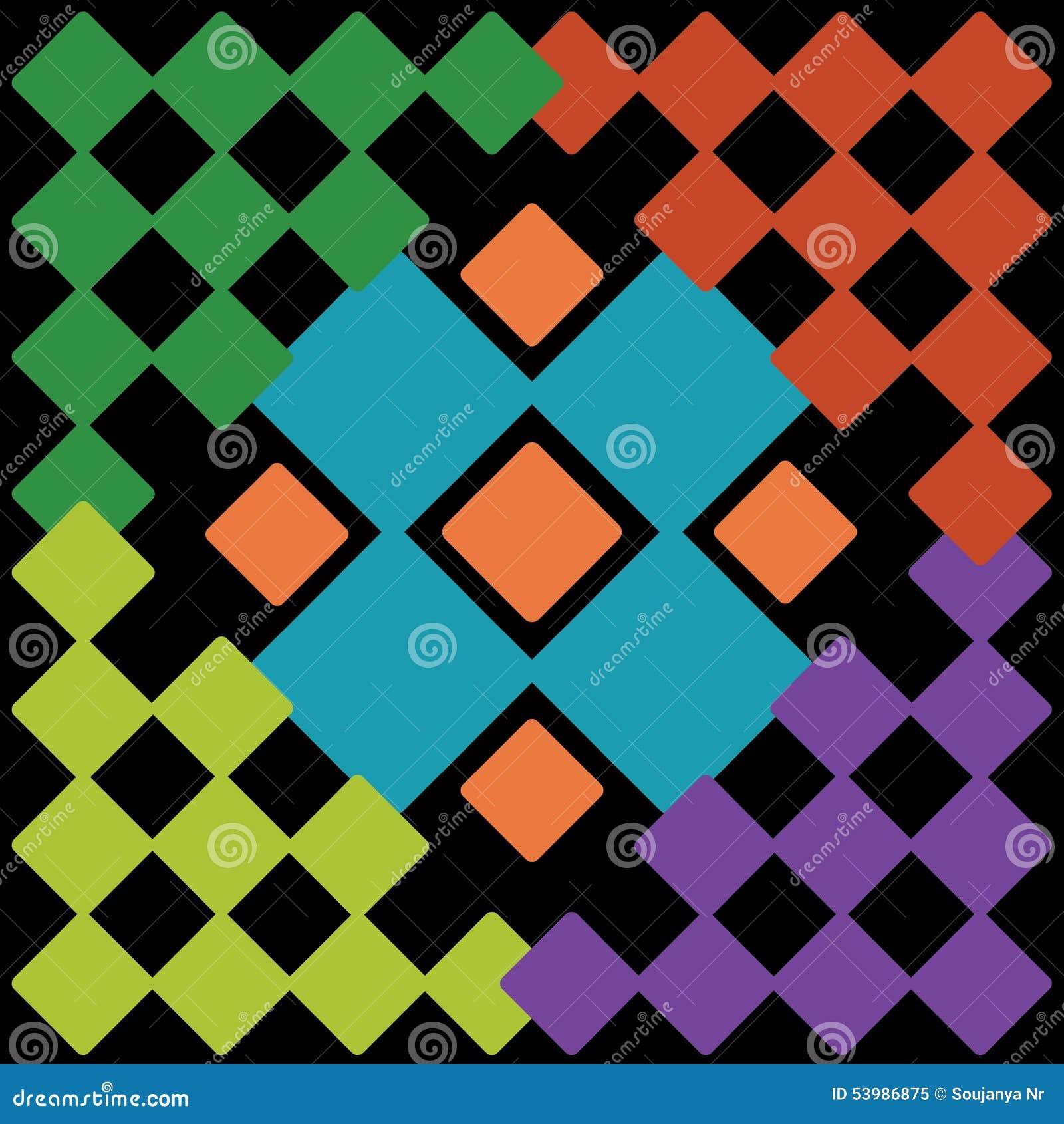 Colourful Wallpaper Stock Illustration Illustration Of Orange