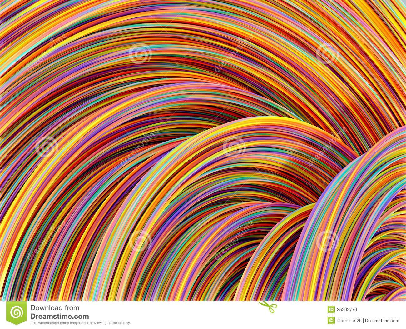 Colourful Wires Stock Illustration Image Of Colorful Colourful Images