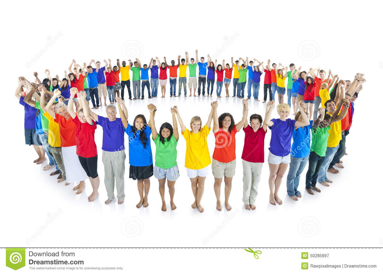Colourful World United Together Community Concept Stock Photo - Image ...
