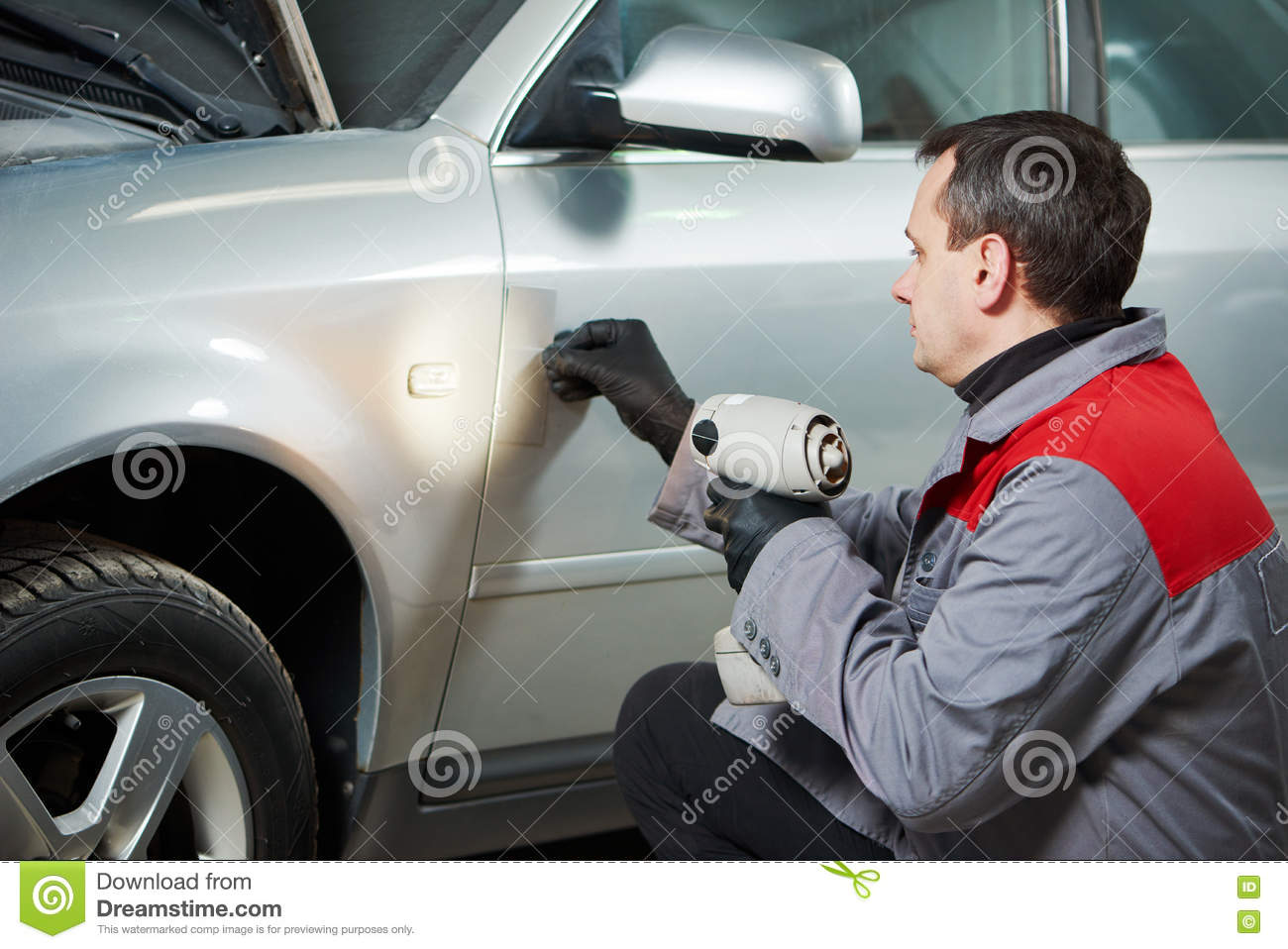 Car paint samples stock photo. Image of azure, instance 56435334.