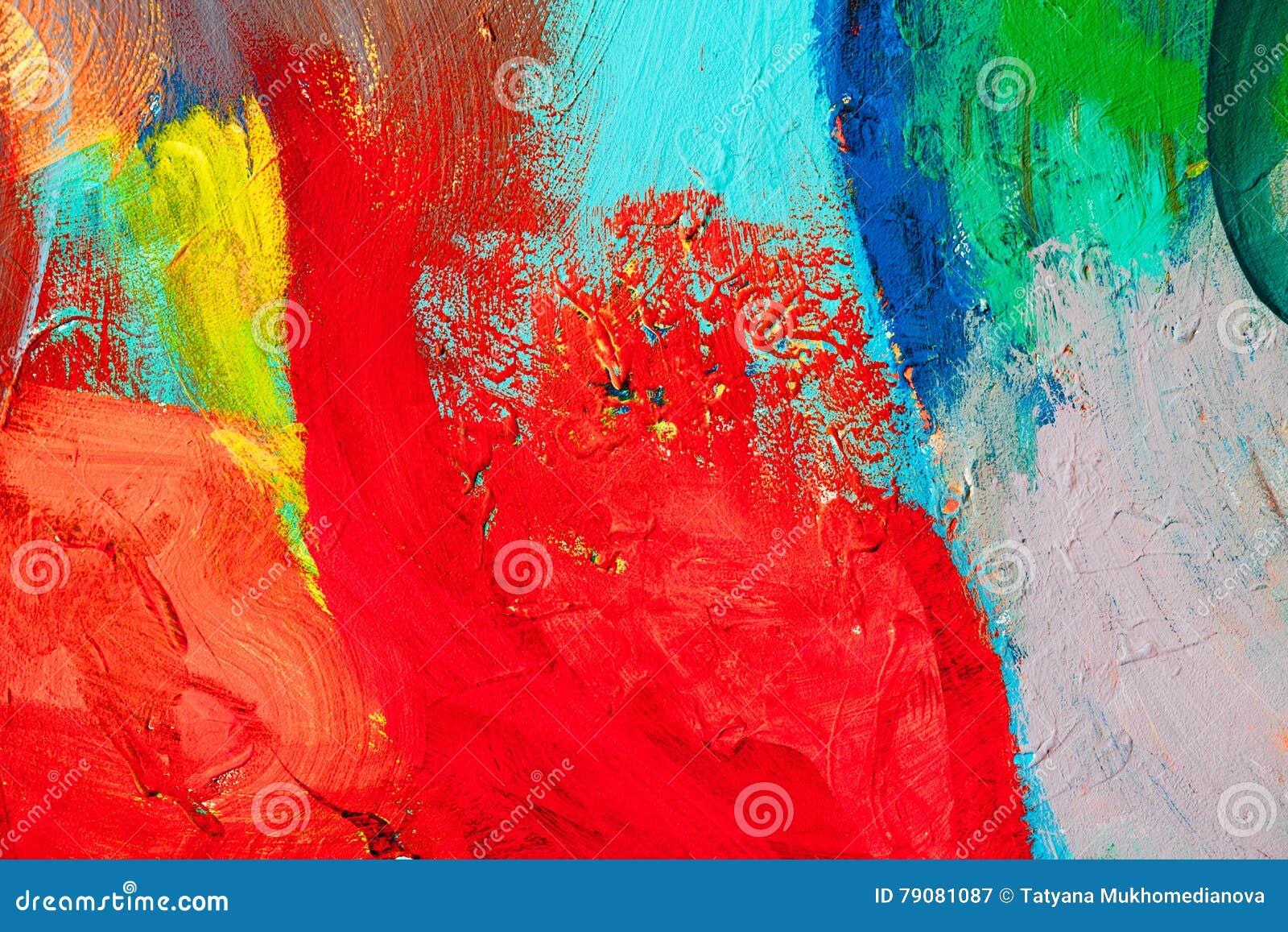 Popolare Colpi Colorati Della Pittura Priorità Bassa Di Arte Astratta  XZ38