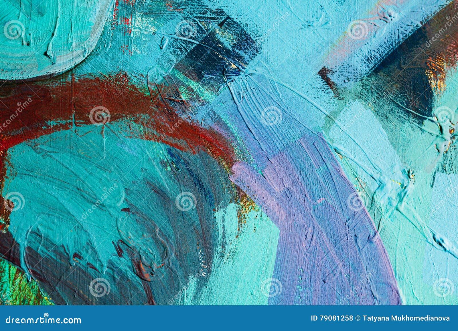 abbastanza Colpi colorati della pittura priorità bassa di arte astratta  EP05