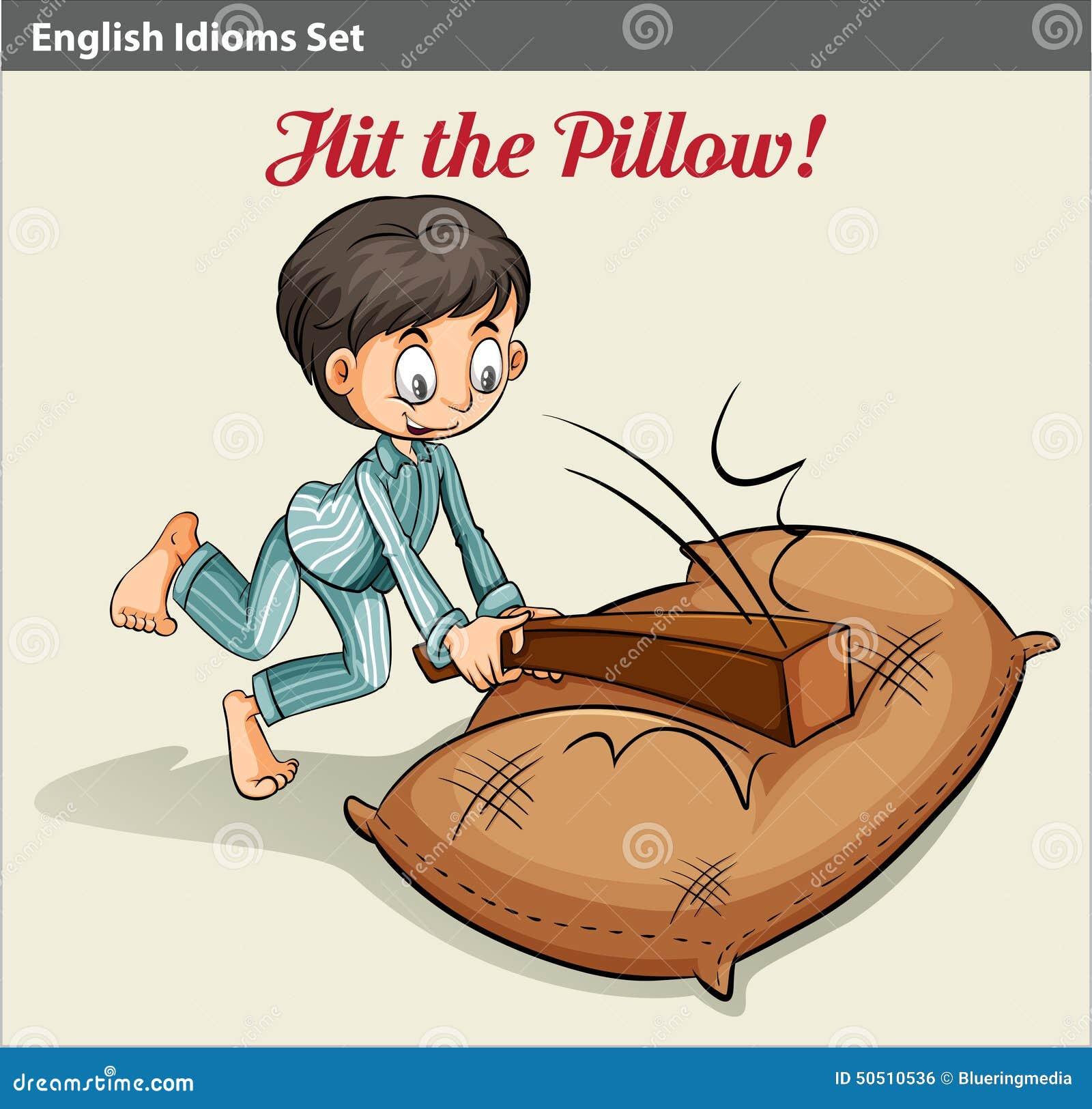 Colpire il cuscino