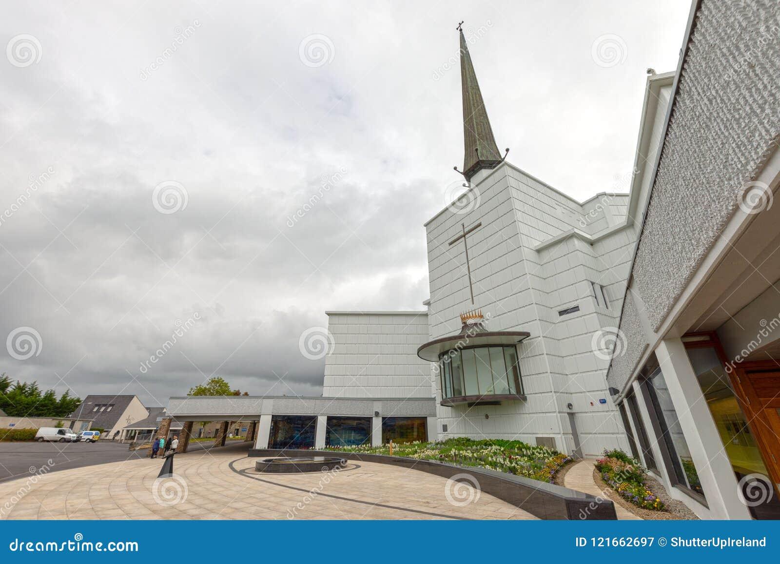 Colpo, Mayo, Irlanda ` S Marian Shrine nazionale dell Irlanda in Co Mayo, visitata vicino oltre 1 5 milione di persone ogni anno