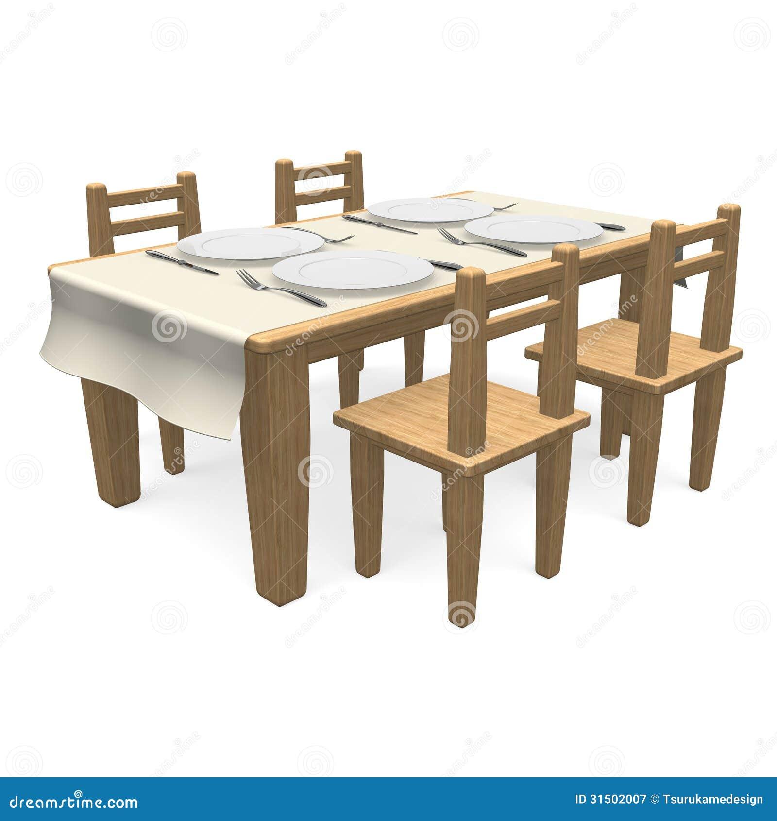 Coltelleria sul tavolo da pranzo di legno fotografia stock libera da diritti immagine 31502007 - Video sesso sul tavolo ...