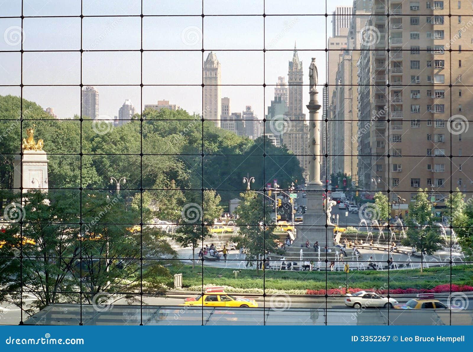 Columbus Circle, Manhattan. New York