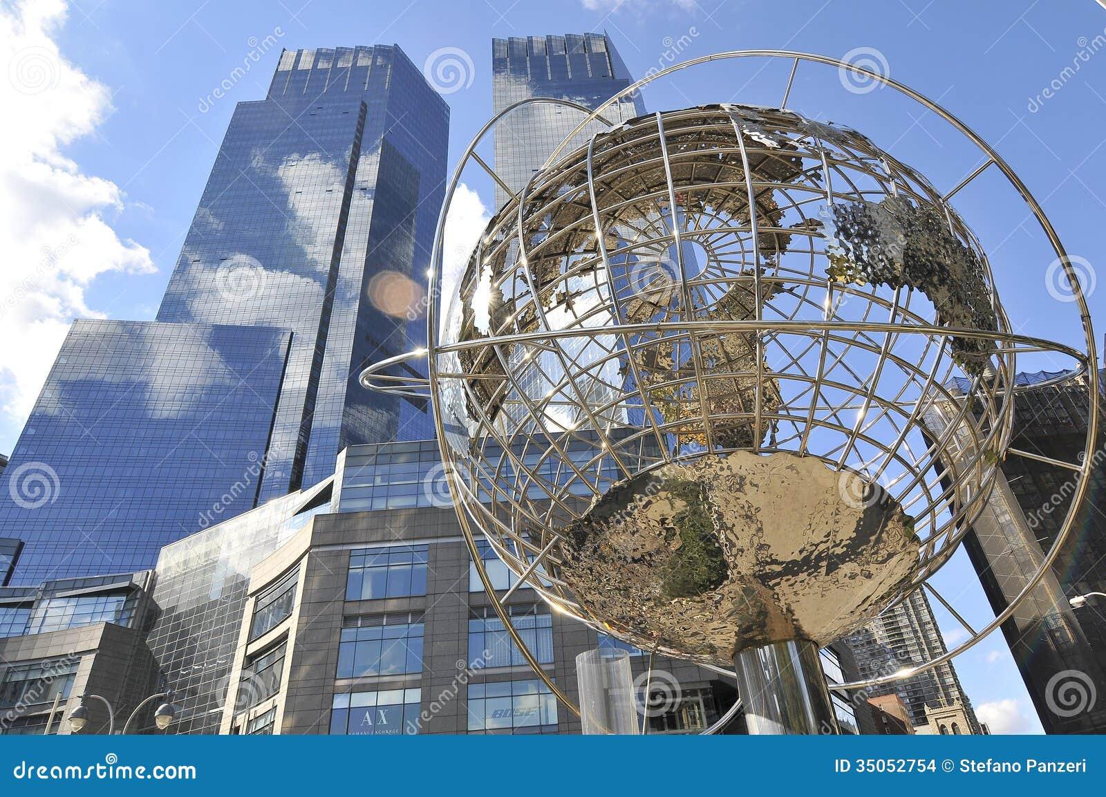 Columbus Circle Stock ... Subway Vector