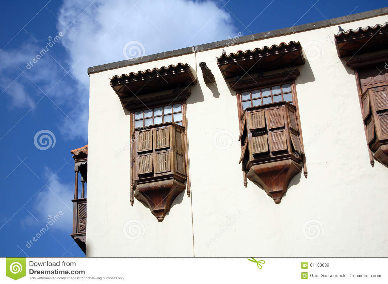 Columbus house in las palmas on gran canaria stock photo - Houses in gran canaria ...