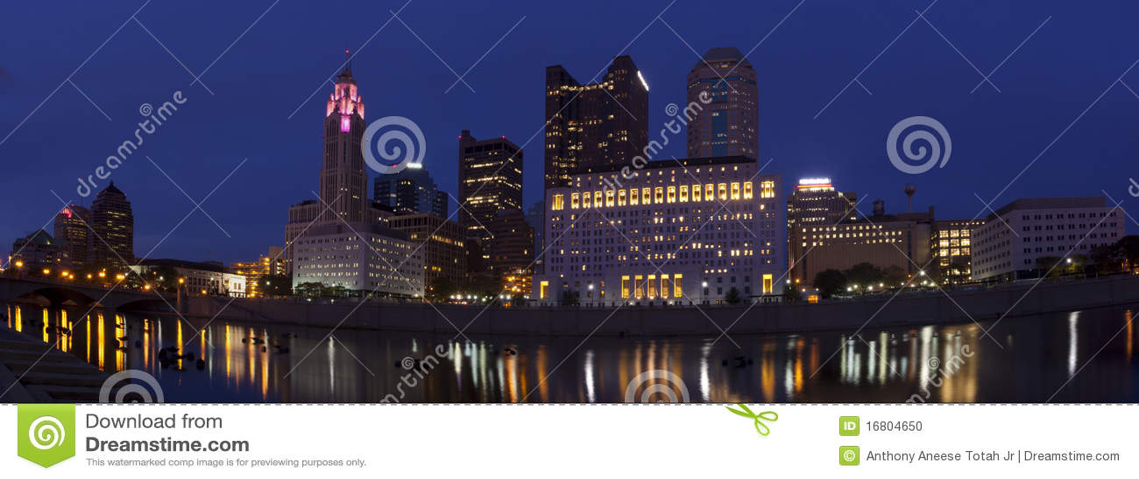 Columbus Ohio (panoramique)
