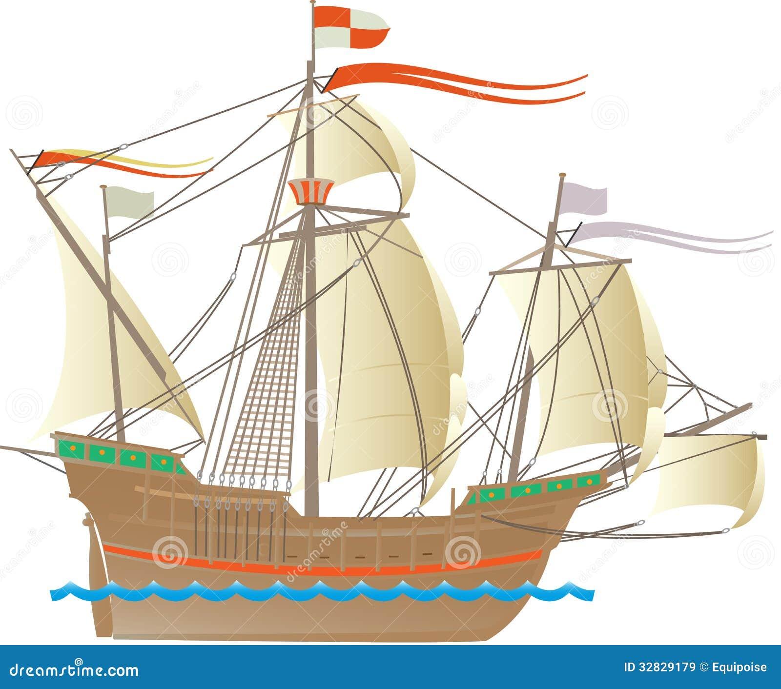 columbus ship royalty free stock images image 32829179
