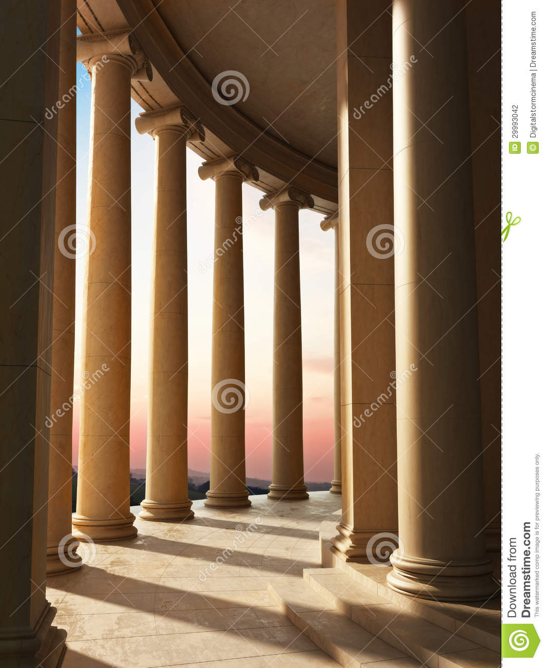 Column architecture stock photography image 29993042 for V column architecture