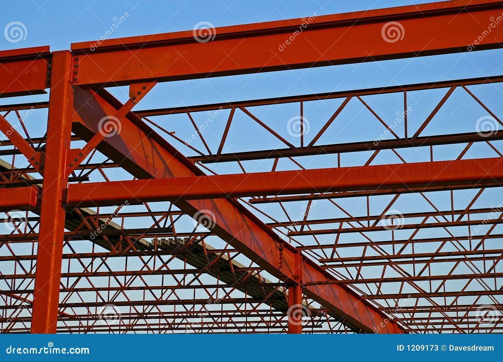 Vigas y columnas de acero