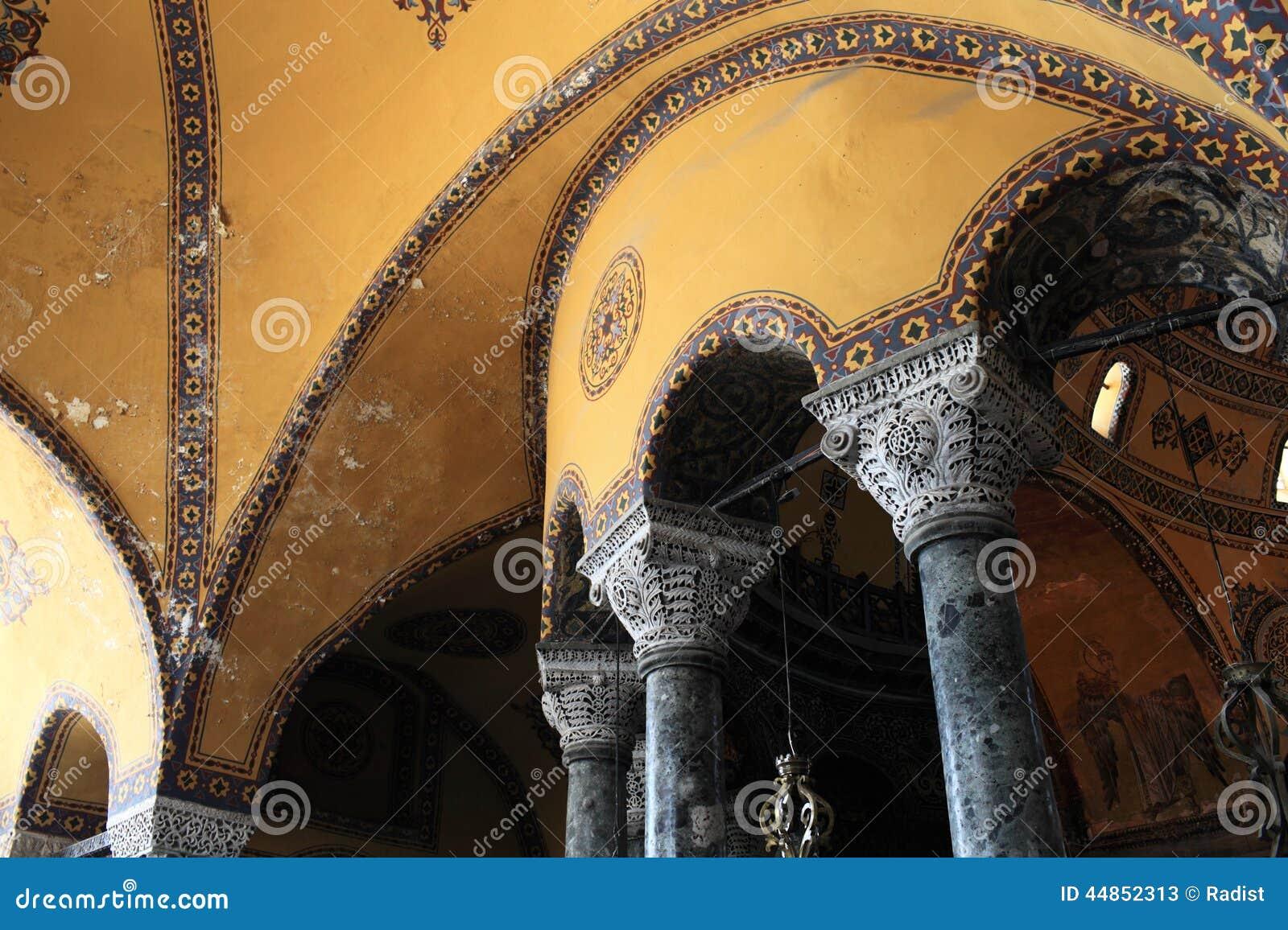 Columnas de Hagia Sophia