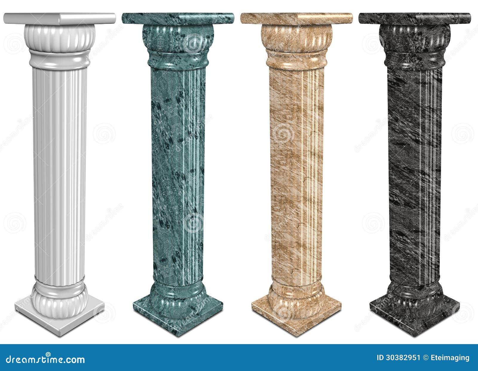 Columnas de m rmol imagen de archivo imagen 30382951 - Columna de marmol ...