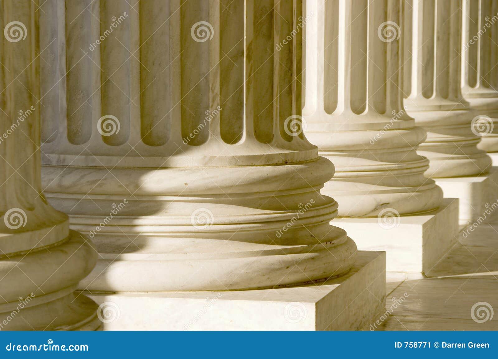 Columnas pilares cierre para arriba imagen de archivo for Pilares y columnas