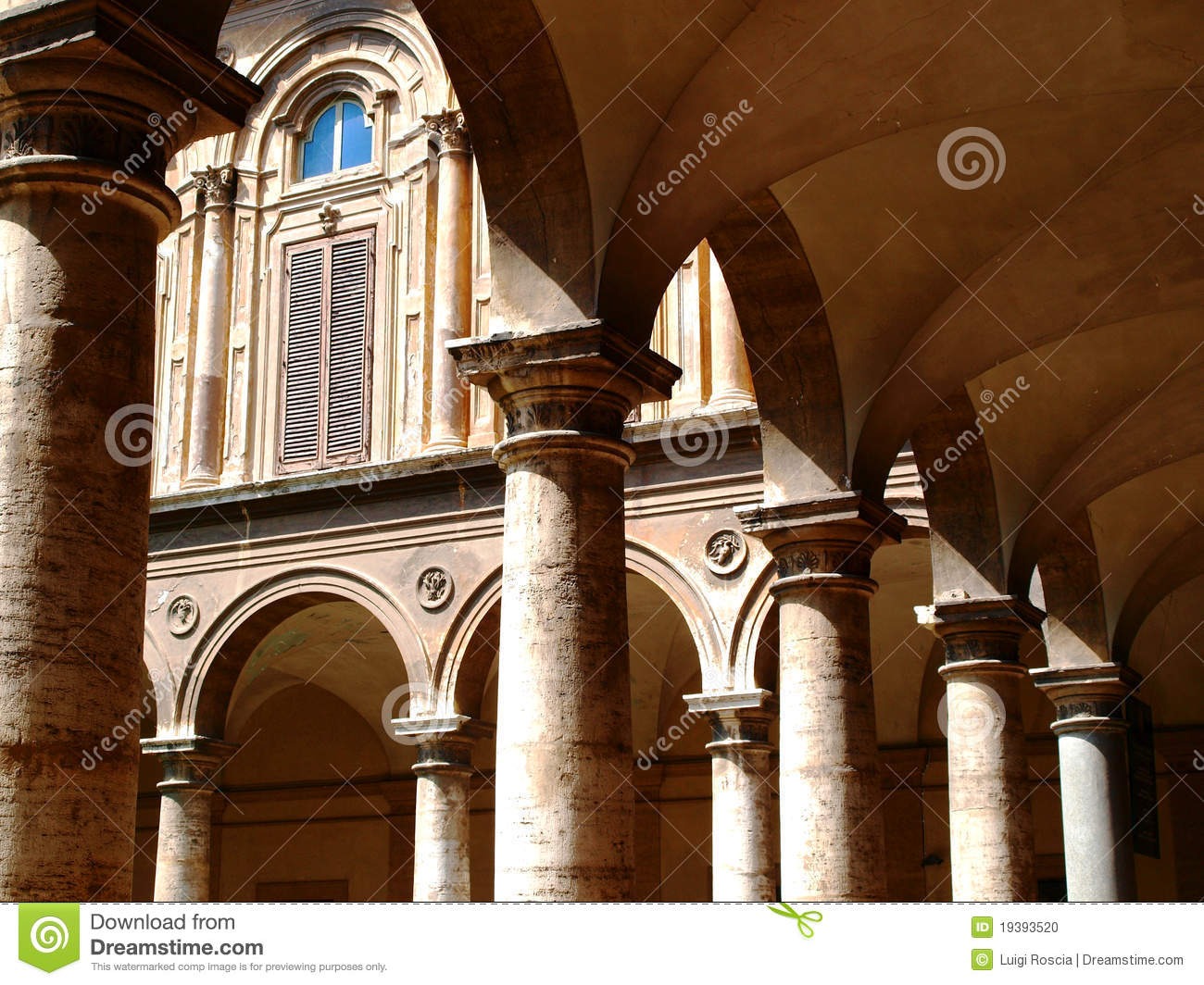 columns and arches stock photo image 19393520
